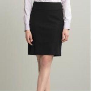 Banana Republic Black Stretch Pencil Skirt sz 8